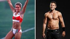 Balian Buschbaum transgendered from female to male in 2007.  Yvonne was athletically beautiful, but Balian is classically masculine.   Next time you wonder about nature versus nurture...think about Balian.