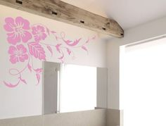 Buy one of these floral wall stickers and add some natural beauty to your home decor. Apply to any wall, wardrobe, mirror or fridge. Many colours and two sizes