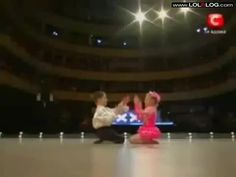 Young Boy And Girl Dancing. Incredible!