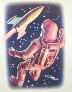 Vintage Space Poster