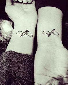 #Tatuaje_infinito♥ #amigas_novios...