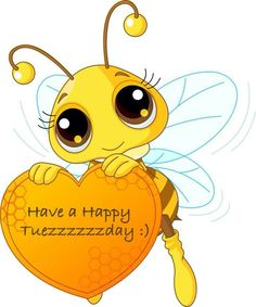 Royalty-Free (RF) Clip Art Illustration of a Cute Bee Holding A Honey Valentine Heart by Pushkin Honey Bee Pictures, Bee Drawing, Cartoon Bee, Honey Bee Cartoon, Bee Party, Cute Bee, Clip Art, Bees Knees, Valentine Heart