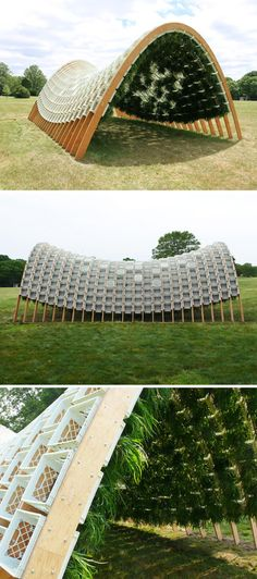 LIVING PAVILION BY ANN HA AND BEHRANG BEHIN