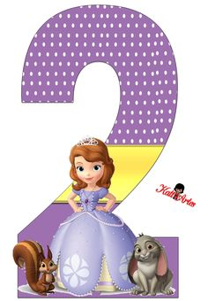 Sofia Birthday Cake, Princess Sofia Birthday, Happy Birthday Rose, Sofia The First Birthday Party, Frozen Birthday Party, 2nd Birthday, Kids Cartoon Characters, Cartoon Kids, Walt Disney Princesses