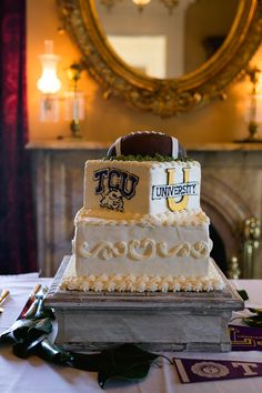 Mississippi Wedding by Sarah Becker Photography (Southern Weddings Magazine) Wedding Venue Decorations, Wedding Venues, Football Grooms Cake, Wedding Cake Inspiration, Wedding Ideas, Southern Weddings, Wedding Groom, Marry Me, Mississippi
