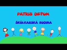 PATRIS deťom - Škôlkarská rodina - YouTube Rodin, Karaoke, Preschool, Family Guy, Entertainment, Logos, Youtube, Fictional Characters, Kid Garden