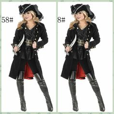 High Quality Queen Knight Halloween Woman Pirate Costumes Women Sexy Classical Somali Pirate Cosplay Costumes Hot Sale H15221