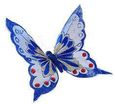 imagenes de mariposas azules con brillo - Buscar con Google