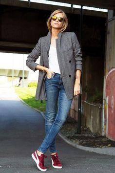come abbinare i jeans skinny