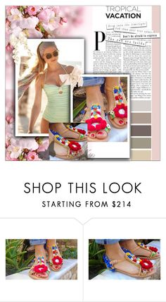 """""""Gogo Sandals  13"""" by nedim-848 ❤ liked on Polyvore"""