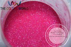 TCH2037 200g/bag  0.2mm 008 size Shinning Rainbown dark pink Colorful Glitter Powder  for nail ,tatto and other Art decoration