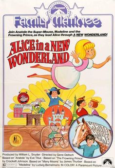 """Film: Alice of Wonderland in Paris (1966) Year poster printed: 1975 Country: USA Size: 27""""x 41"""" """"Now the screen brings you a new kind of entertainment!"""" This is a vintage, one-sheet movie poster from"""