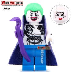 XINH 319 Coat Joker Two Face With Base Single Sale Building Blocks Suicide Squad Movie Minifigures Best Children Gift Toy X0122