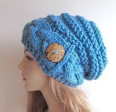 PDF Instant Download Knitting Pattern Braided Cable by Lacywork