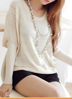 Loose sweater. Perfect with leggings or jeggings