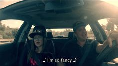 "Oh, you fancy, huh? | Watch This Super-Hip Father And Daughter Lip-Synch Iggy Azalea's ""Fancy"""