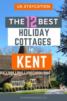 12 jaw-dropping and incredibly unique holiday cottages available to book for your next holiday.     This curated selection of unique place is the best of the best on Airbnb in Kent. From charming historic buildings, to Dutch barge boats, to treehouses. It's your guide to Airbnb's in Kent.    Included in the post is a Discount Code for new Airbnb users.    #Kent #Airbnb #Staycation #UK #wheretostay #travel #discount #England #staycation #RoamingRequired #iRoamToo Travel Inspiration, Travel Ideas, Travel Tips, Dover Castle, Dutch Barge, Packing For Europe, Local Pubs, English Heritage, Short Break