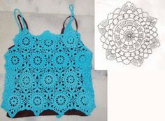camisole crochet top inspiration