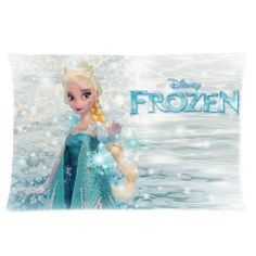 Personalized Frozen Pillow Cases 16x24 one side by LoveBeadsWorld, $12.46