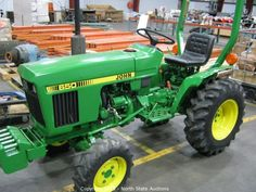 John Deere 650 Tractor  Bidding on this item starts Tuesday, April 23, 2013 at 12:00 am (PT).