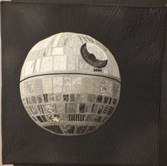 OMG Star Wars fans take a look at this 3-D quilt from dizzyquilter.wordpress.com