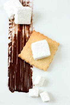 Mallows [Chocolate Covered Marshmallow Shortbread Cookies]