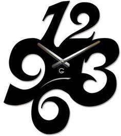 Clock Art, Diy Clock, Clock Decor, Easy Wood Projects, Woodworking Projects Diy, Wooden Clock, Wooden Art, Craftsman Clocks, Records Diy