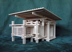 Architectural Model Artwork Sculpture  FAMILY by Konokopia on Etsy