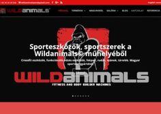 wildanimals.hu weboldal