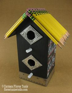 DIY Bird School House