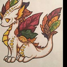 Color Pack Elemental Dragons - Kids / Adult Coloring Pages - Cute Printable Fantasy Art - Digital Coloring Book - added a photo of their purchase - Cute Dragon Drawing, Dragon Sketch, Cute Drawings, Animal Drawings, Drawing Sketches, Fantasy Drawings, Fantasy Kunst, Fantasy Artwork, Photo Dragon