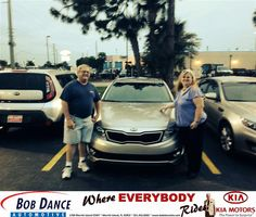#HappyBirthday to Wendy Parsels from Kevin Koplin at Bob Dance KIA!