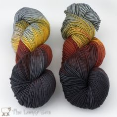 Broody Bantams in Socks that Rock Heavyweight from Blue Moon Fiber Arts