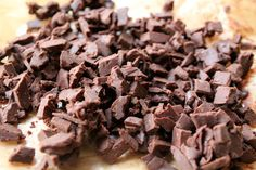 Homemade chocolate truffle chips make the best cookies EVER!