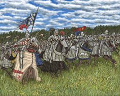 Charge of the French Knights, Battle of Agincourt