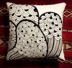 IKEA saralisa fabric pillow covers. Love love love.