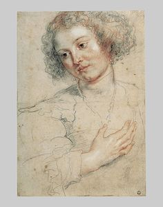 Rubens -- especially his sketches. Trois Crayons, Chalk Drawings, Art Drawings, Life Drawing, Painting & Drawing, Juliette Aristides, Saint Apollonia, Peter Paul Rubens, Principles Of Art