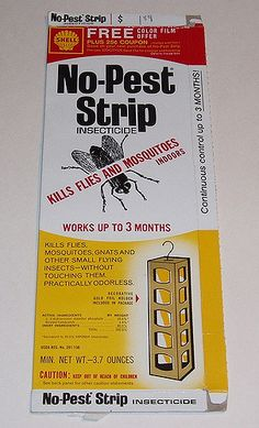 Shell No Pest Strip box | Dan Goodsell | Flickr Omygosh.