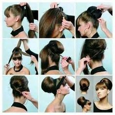 Easy Updo Hairstyles Step by Step - Bing images