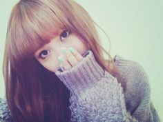 emi High School Girls, Lost & Found, Arm Warmers, Winter Hats, Kawaii, Hair Styles, Beautiful, Beauty, Women