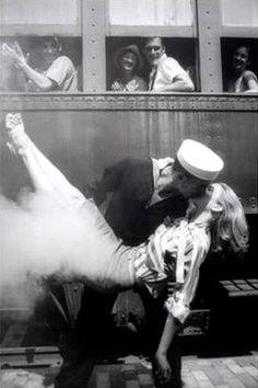 Sailor kiss.