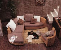 Rattan furniture imported from Indonesia