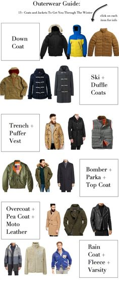 Style Society Guy named Alpha's Bomber Blood Chit Flight Jacket a must-have to get you through the winter. Cold Weather Fashion, Winter Fashion, Men's Coats And Jackets, Men Style Tips, Down Coat, Dress Codes, Style Guides, Parka, Raincoat