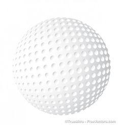 White golf ball icon