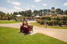Bridesmaids. Werribee Mansion. Rose Garden.
