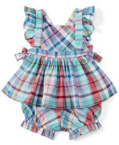 Ralph Lauren Baby Girls' Plaid Tunic
