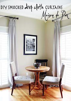 DIY Smocked Curtains - Maison de Pax