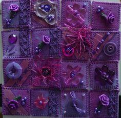 Fabric Inchies | Create fabric art: Inchies am Wochenende