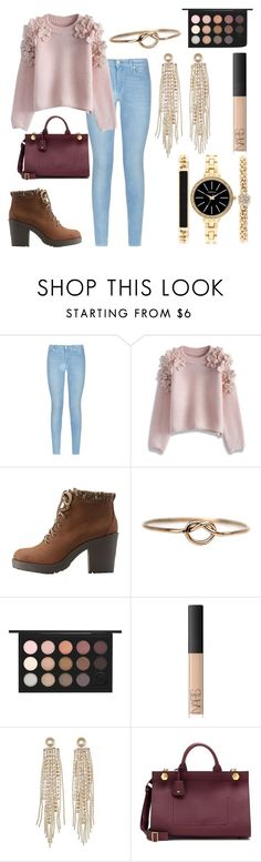 """Thirteen"" by haileyperryman ❤ liked on Polyvore featuring 7 For All Mankind, Chicwish, Charlotte Russe, LUMO, MAC Cosmetics, NARS Cosmetics, Anya Hindmarch, Style & Co., women's clothing and women's fashion"