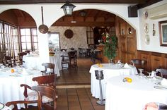 El comedor bistrot. #Mallorca (Balearic Islands, Spain). Enjoy your stay in #Mallorca in our charming hotel, a typical Catalonian country house, at the foot of the Puig de Randa. http://www.esrecoderanda.com/